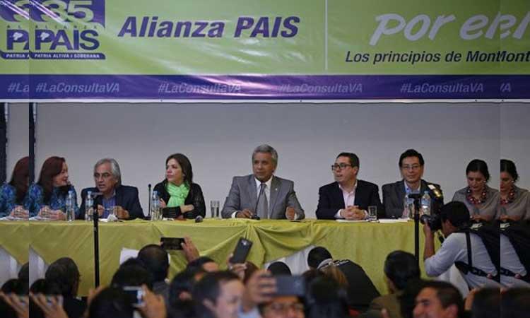 Lenín Moreno, Alianza PAIS, Ecuador, Política
