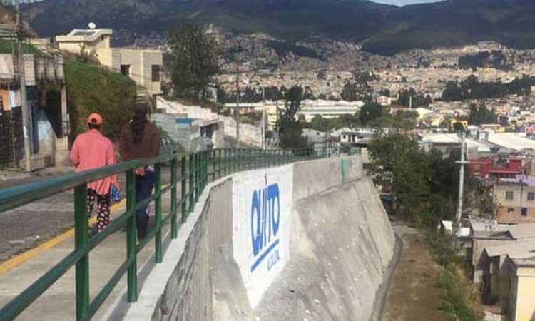 Quito, Invierno, Obras
