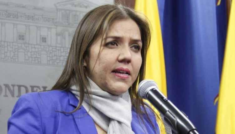 Maria Alejandra Vicuña, Ecuador, Vicepresidencia,