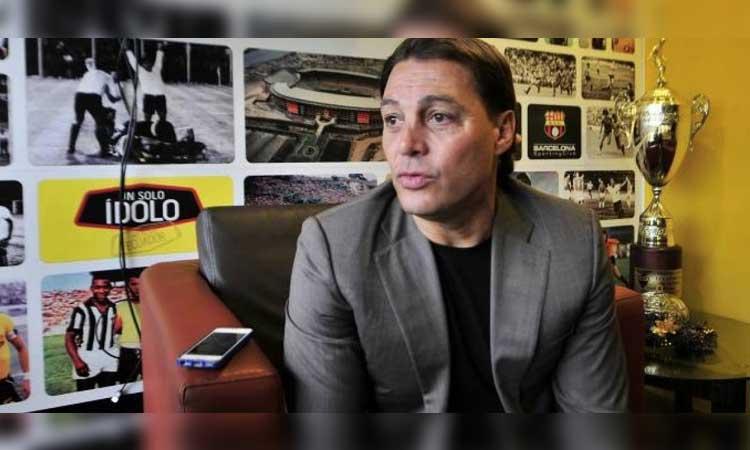 Alfaro Moreno, Barcelona SC, FEF, AFNA, Deportes
