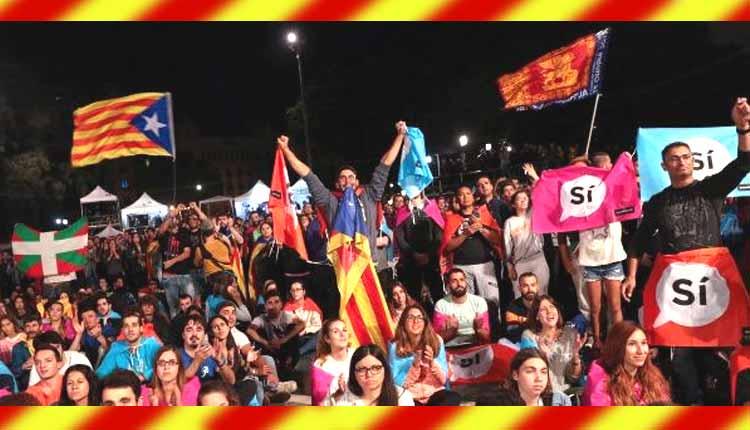 Más de 2,2 millones votaron en el referéndum en Catalunya, el Sí gana con el 90%