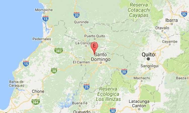 Sismo, Santo Domingo,