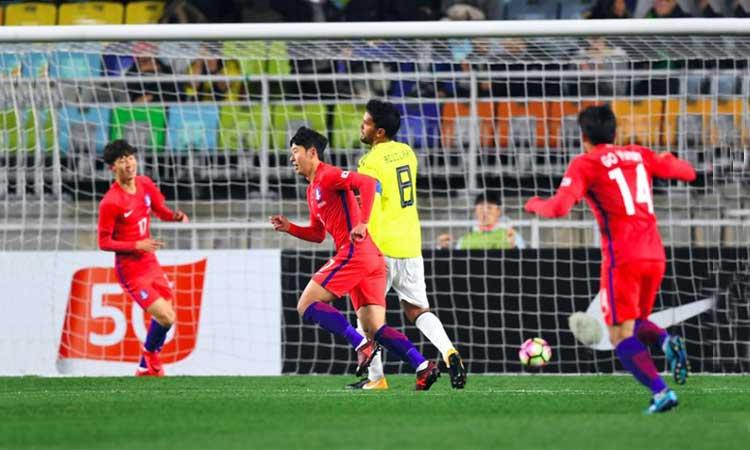 Colombia, Corea del Sur, Fútbol, Mundial Rusia 2018, Resultados