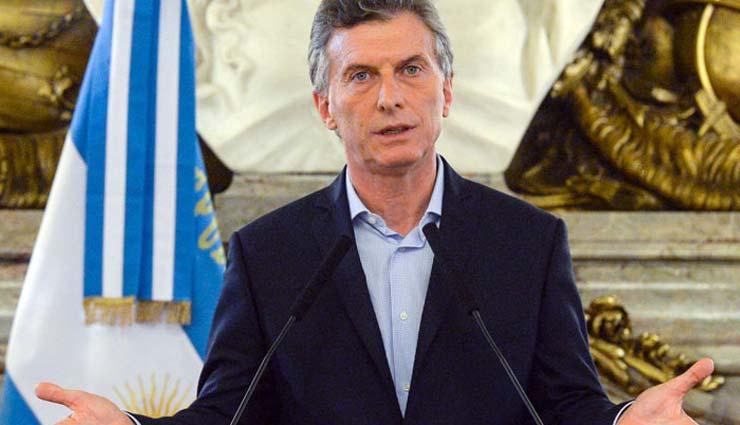 Mauricio Macri, Argentina,