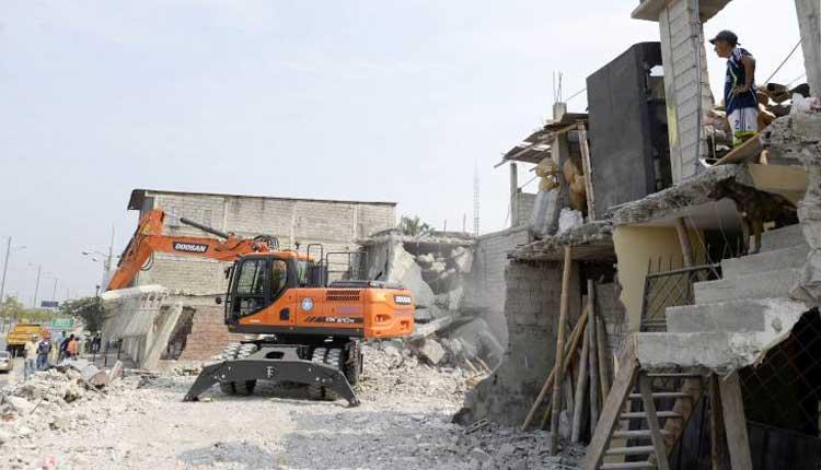 Demolición, Guayaquil