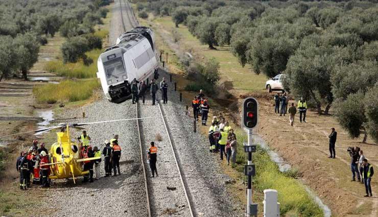 Accidente, España,, Tren