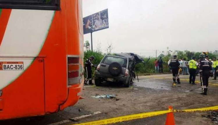 Accidente, Transito, Santo Domingo, Ecuador,