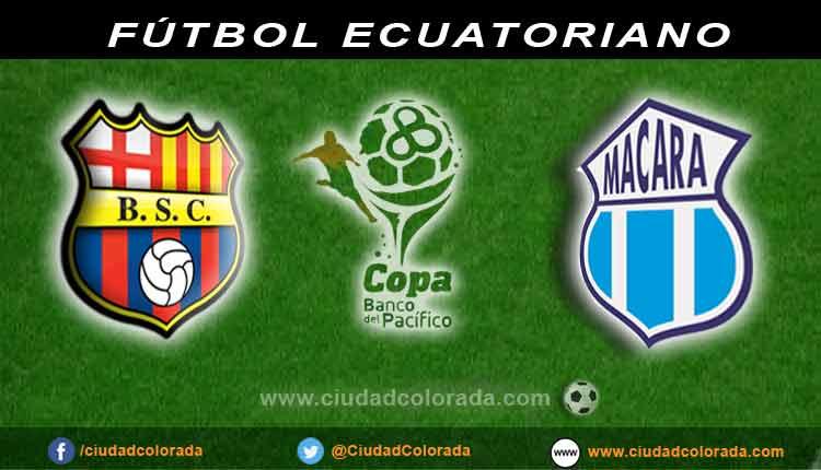 Barcelona, Macara, en vivo, fútbol, Campeonato Ecuatoriano,