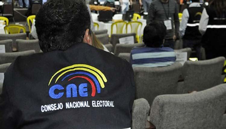 CNE, Elecciones, Santo Domingo,