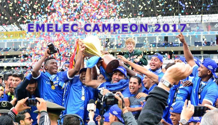 Emelec Campeón 2017, Fútbol, Campeonato Ecuatoriano,
