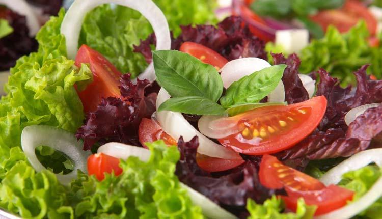 Ensaladas Verdes, Salud, Comer Sano,