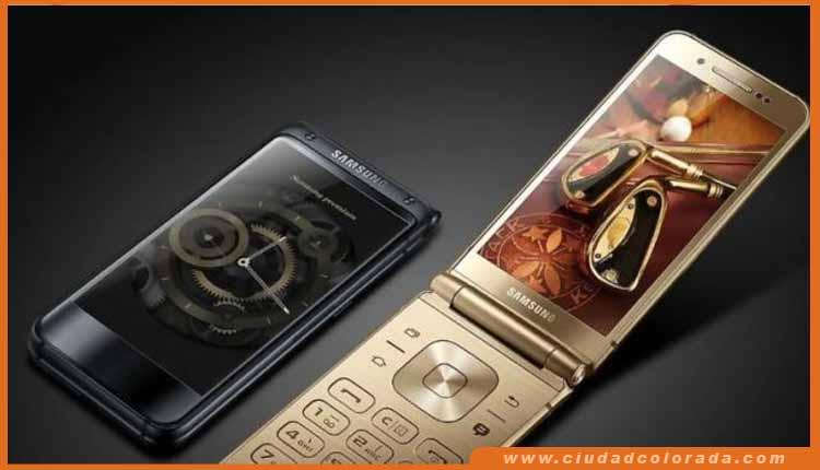 smartphone' W2018 es la última incorporación a la línea W de Samsung