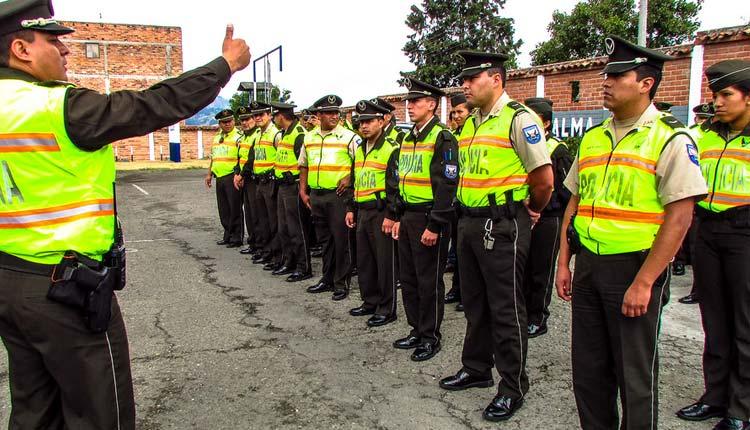 Policía, personal,