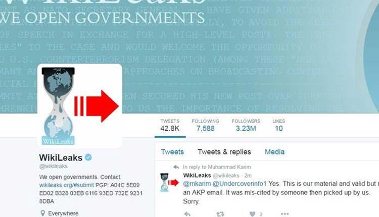 Wikileaks, Twitter,