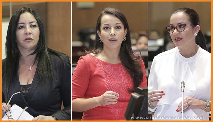 Marcela Aguiñaga cuando se refirió a diversos casos en los que mujeres que hacen política son víctimas de persecución de diversos medios