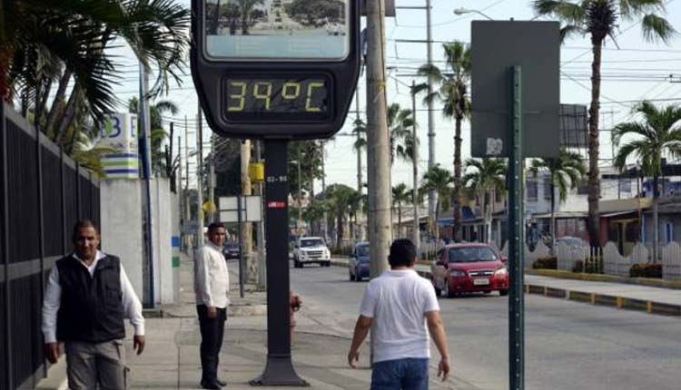 Calor, Guayaquil, Temperaturas,