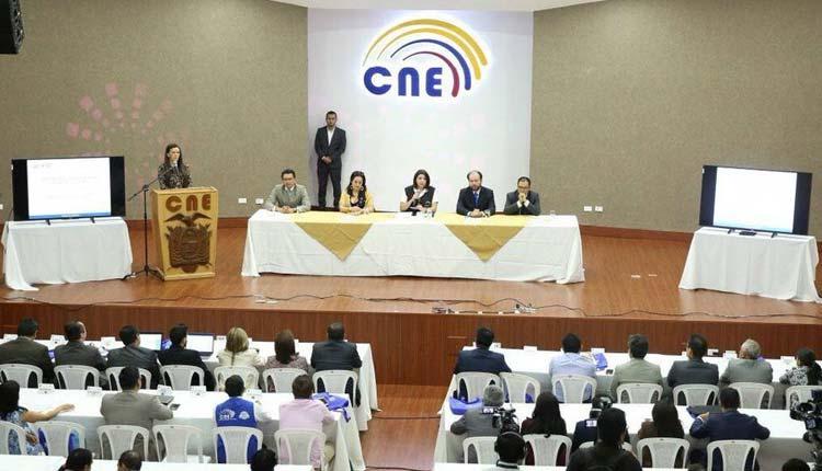 CNE, Capacitaciones, Ecuador,