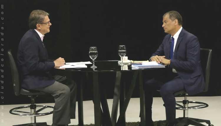 ENtrevista Rafael Correa