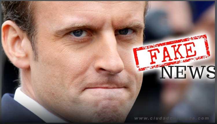 Emmanuel Macron Fake News