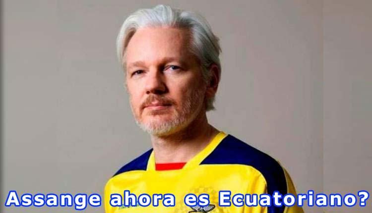 Julian Assange, Ecuador, Mundo,