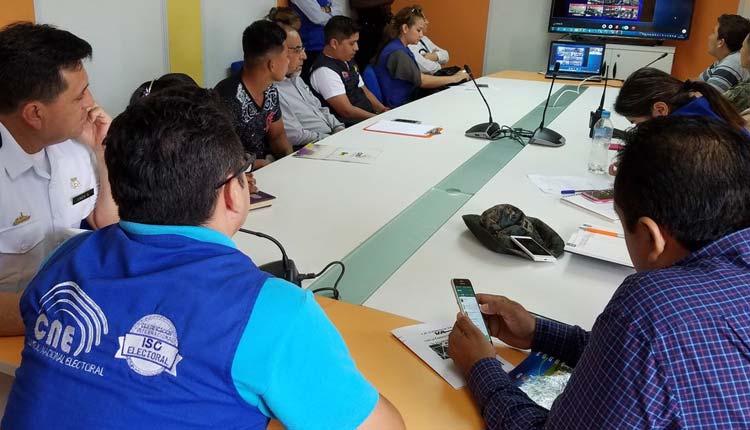 Mesa Técnica, Seguridad Electoral, Santo Domingo,