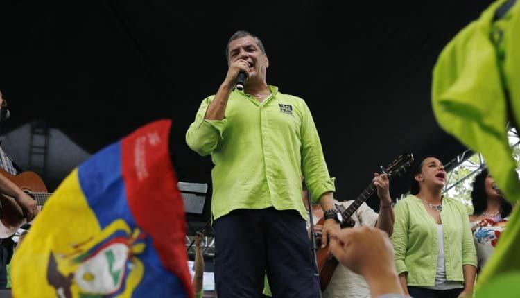 Rafael Correa, Política, Ecuador,