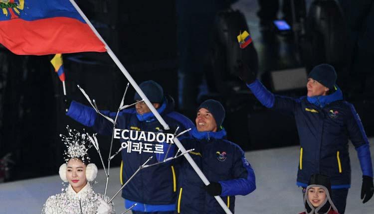 Klaus Jungbluth, Juego Olímpicos, Ecuador, Mundo,