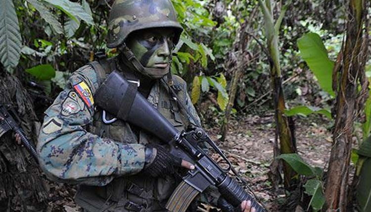 Militares, Ecuador, Farc,
