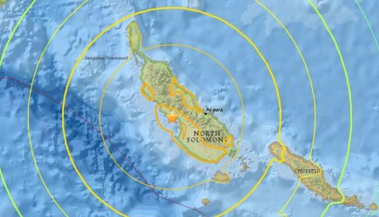 Nueva Guinea, Mundo, Terremoto,
