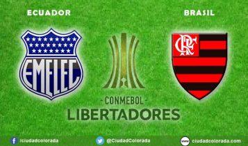 Emelec vs Flamengo EN VIVO por Copa Libertadores, horario, alineaciones y el minuto a minuto en directo