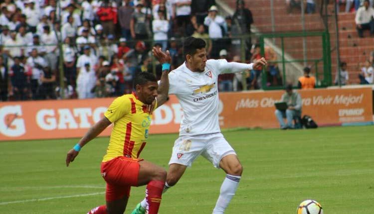 LDU, Aucas, Deportes, Campeonato Ecuatoriano de Fútbol,