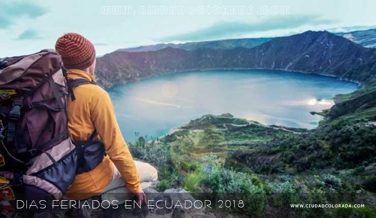 Días feriados en Ecuador 2018