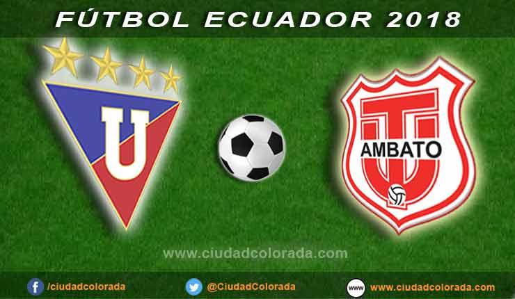 LDU, Técnico Universitario, Fútbol, Campeonato Ecuatoriano de Fútbol,