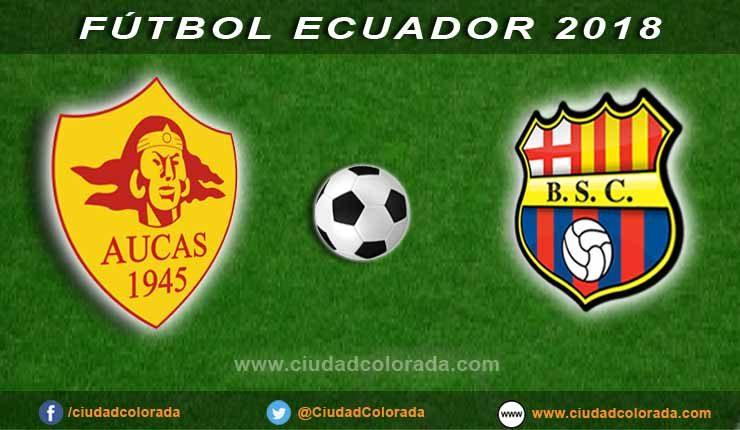 Aucas vs Barcelona, Fútbol, Campeonato Ecuatoriano