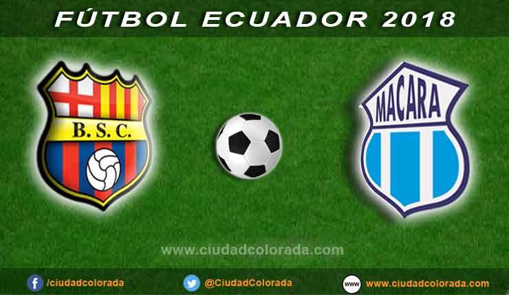 Futbol, Campeonato Ecuatoriano, Barcelona, Macará,