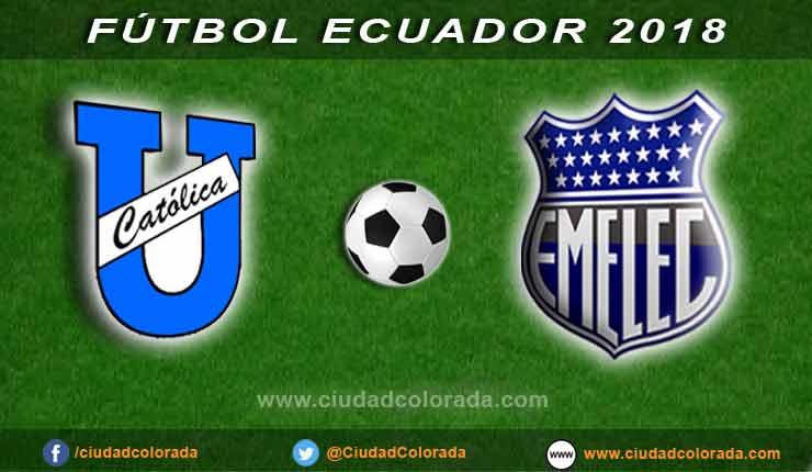 Fútbol, Católica, Emelec, Campeonato Ecuatoriano de Fútbol,