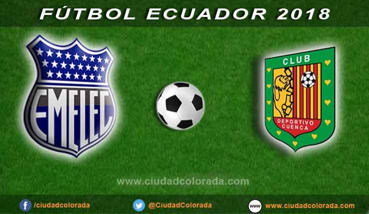 Emelec, Deportivo Cuenca, Fútbol, Campeonato Ecuatoriano,