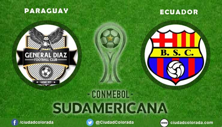 General Díaz vs Barcelona EN VIVO por la Copa Sudamericana, horario, alineaciones y el minuto a minuto en directo