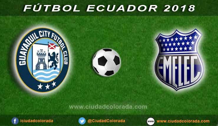 Emelec vs. Guayaquil City EN VIVO