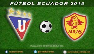 Liga de Quito, Aucas, Fútbol, Campeonato Ecuatoriano del Fútbol,