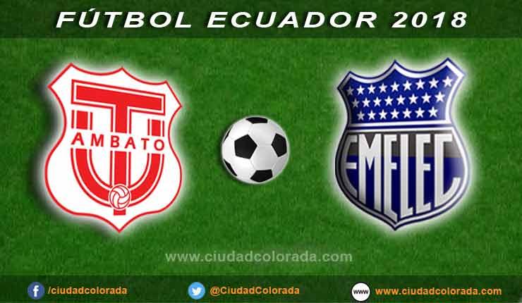 Técnico Universitario, Emelec, Fútbol, Campeonato Ecuatoriano,