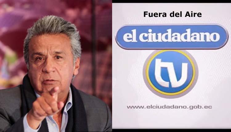 Lenin Moreno, Telesur, Ciudadano TV, Política,