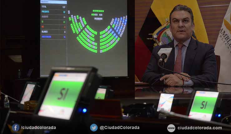 La mayoría de Asambleístas piden la destitución del presidente Serrano