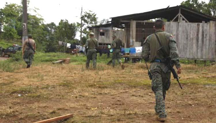 Militares, Ecuador, Esmeraldas, Seguridad,