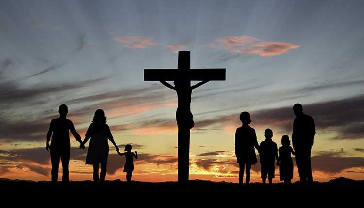 Sociedad, pasión de Cristo,