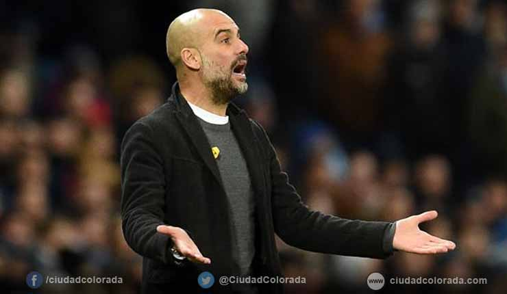 Multa de 20.000 libras a Guardiola por lazo independentista catalán