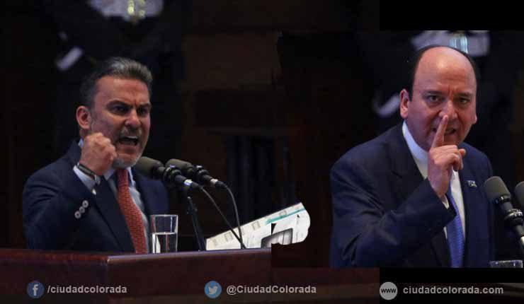 José Serrano es destituido de la presidencia de la Asamblea, Baca llamado a juicio político