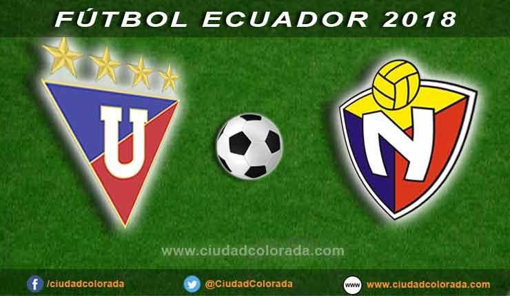 LDU de Quito, El Nacional, Fútbol, Campeonato Ecuatoriano,