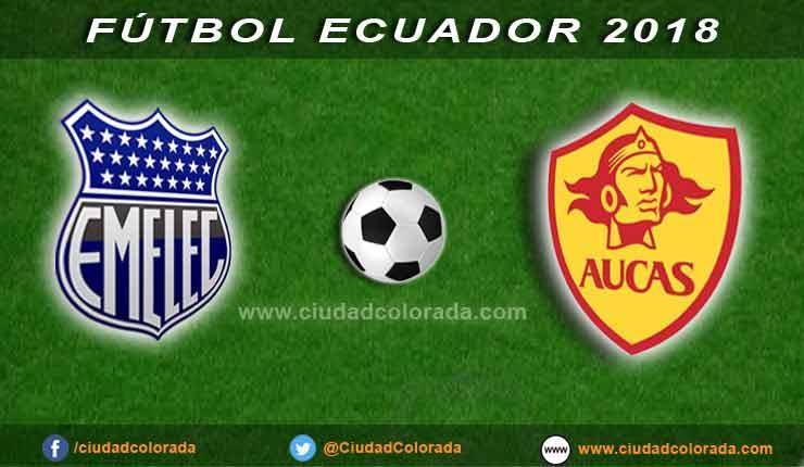 Emelec, Aucas, Fútbol, Campeonato Ecuatoriano,