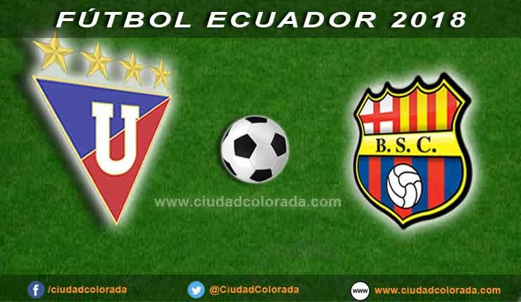 Liga de Quito, Barcelona, Fútbol, Campeonato Ecuatoriano,